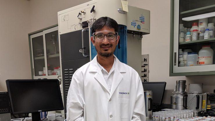 Q&A with Tapish Saboo, PhD, R&D Scientist, Tronox | CristalACTiV